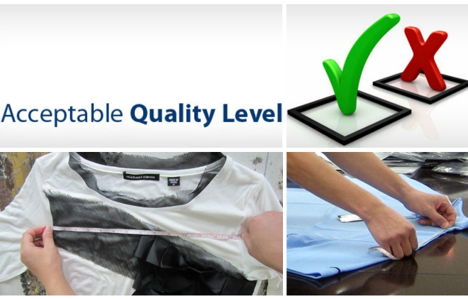accepted quality level aql  chart for apparel industry