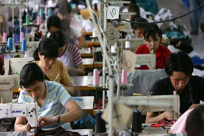 Sewing Section Inspection in Garments