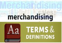 Merchandising Terms and Definitions