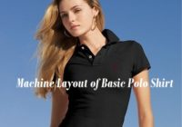 Machine Layout of Basic Polo Shirt
