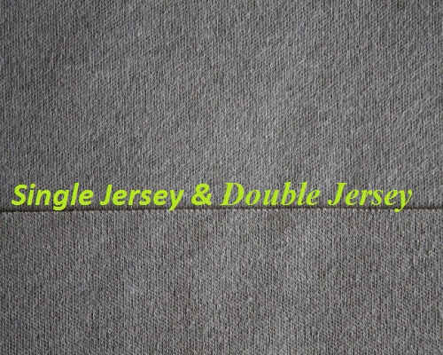 difference between single jersey fabric and double jersey fabric textile merchandising. Black Bedroom Furniture Sets. Home Design Ideas