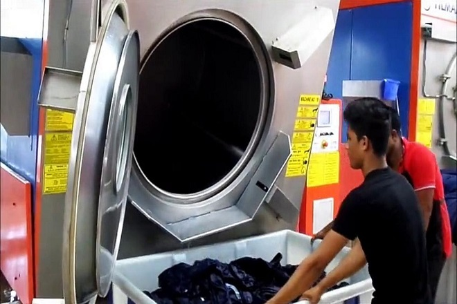 Garment wash