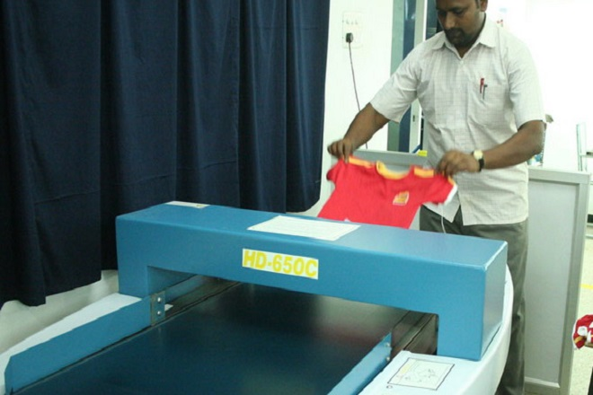Metal Detection Process in the Garments Industry | Textile ...