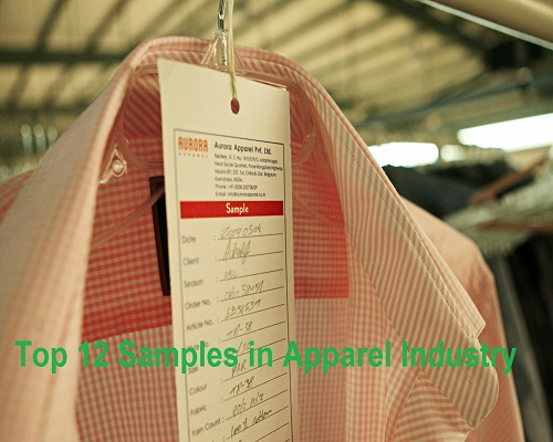 top 12 samples in apparel industry